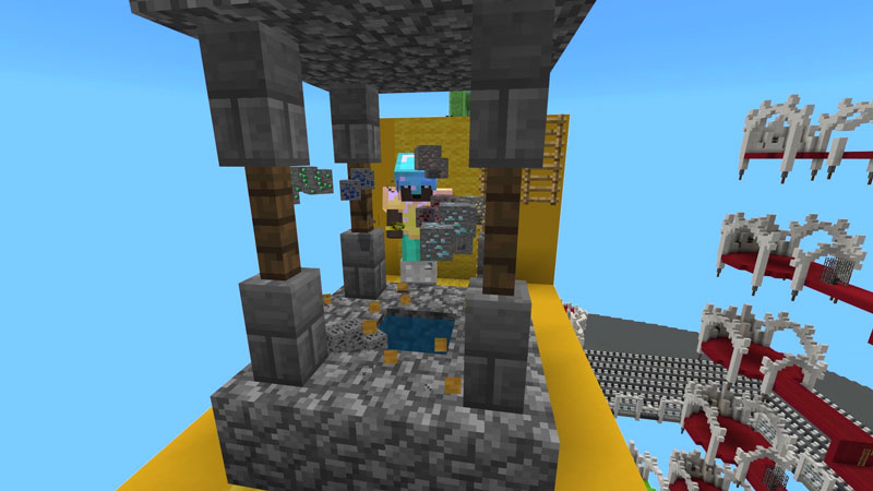 Lucky Block Race on the Minecraft Marketplace by Volcano