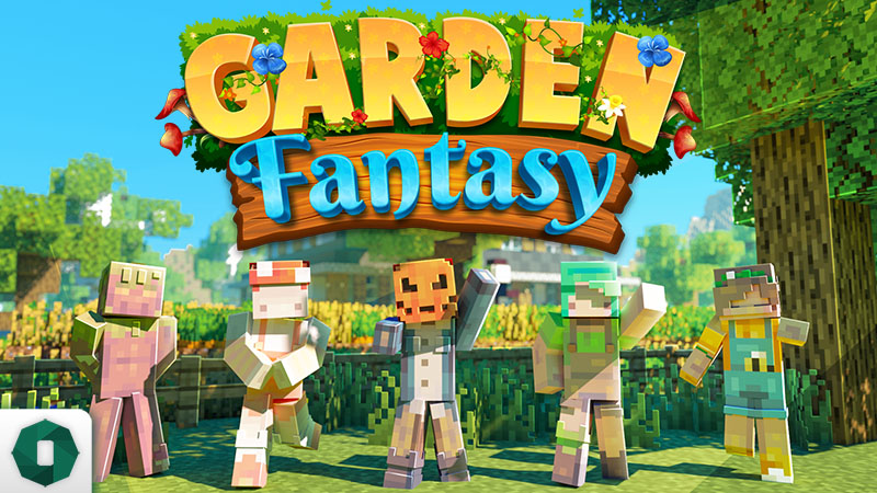 Garden Fantasy on the Minecraft Marketplace by Octovon