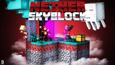 Nether Skyblock on the Minecraft Marketplace by Fall Studios