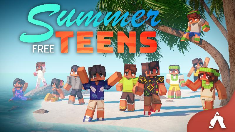 Summer Free Teens on the Minecraft Marketplace by Atheris Games