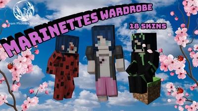 Marinettes Wardrobe on the Minecraft Marketplace by Team Phoenix Studio