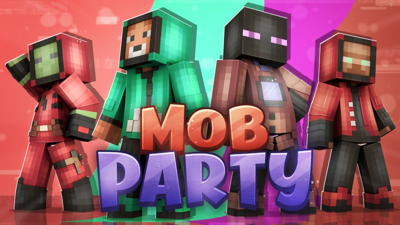 Mob Party on the Minecraft Marketplace by PixelOneUp