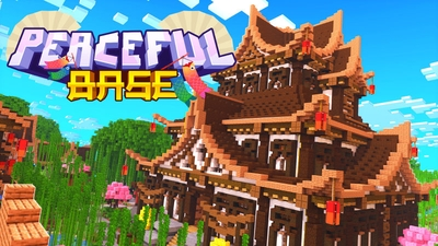 Peaceful Base on the Minecraft Marketplace by BLOCKLAB Studios