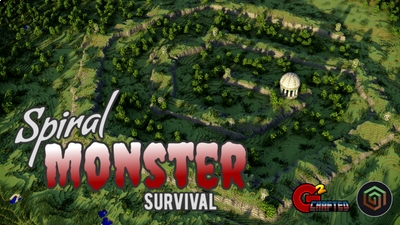 Spiral Monster Survival on the Minecraft Marketplace by G2Crafted