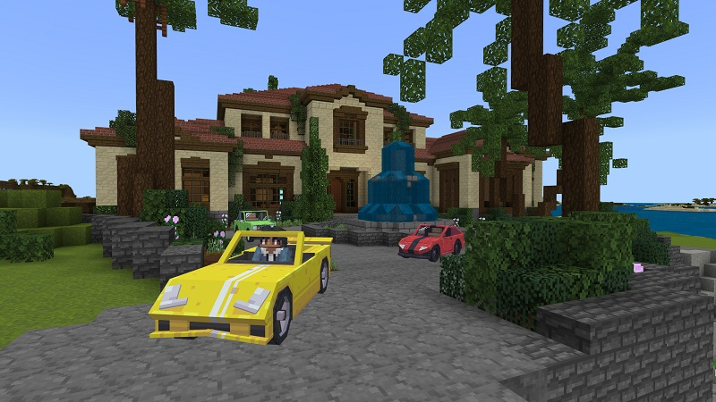 Millionaire Beach Life on the Minecraft Marketplace by BBB Studios