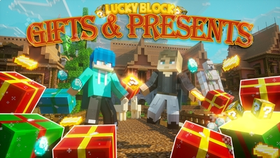 LUCKY BLOCK GIFTS  PRESENTS on the Minecraft Marketplace by Chunklabs