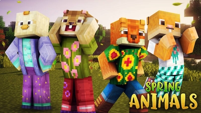 Spring Animals on the Minecraft Marketplace by 57Digital