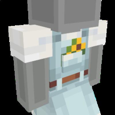 Denim Overalls Dress on the Minecraft Marketplace by Polymaps