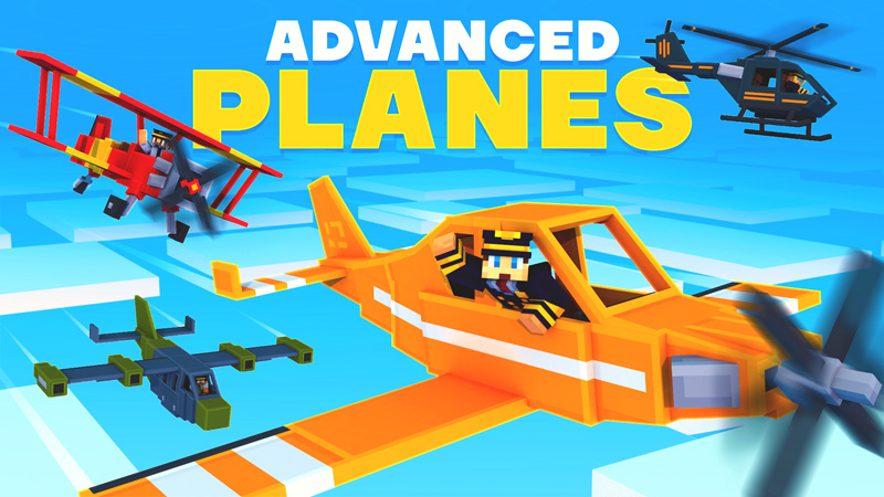 Advanced Planes on the Minecraft Marketplace by HorizonBlocks
