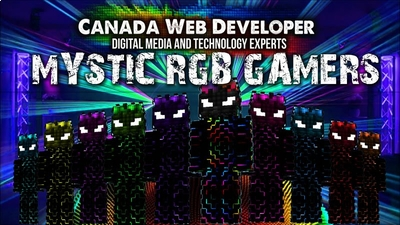 Mystic RGB Gamers on the Minecraft Marketplace by CanadaWebDeveloper