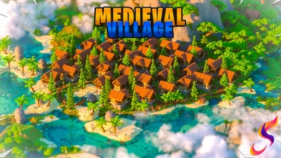 Medieval Village on the Minecraft Marketplace by Fall Studios
