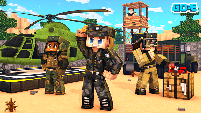 Military Army  on the Minecraft Marketplace by GoE-Craft
