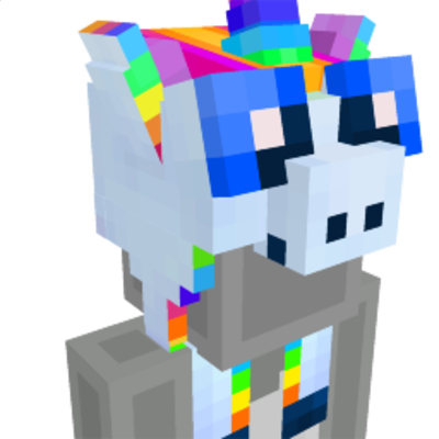 Unicorn Hat on the Minecraft Marketplace by The Rage Craft Room