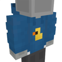 Blue Hoodie on the Minecraft Marketplace by Dodo Studios