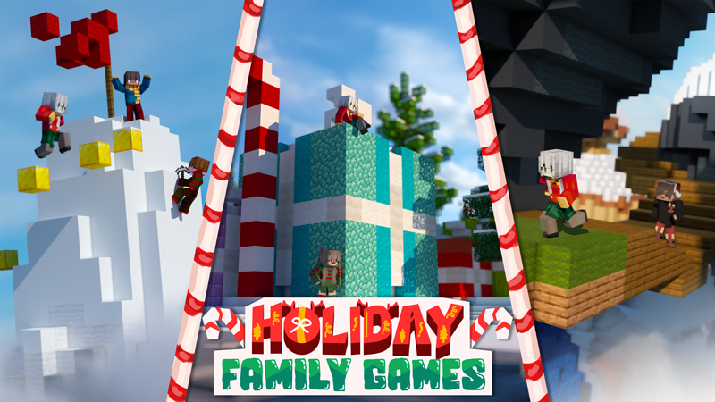 Holiday Family Games on the Minecraft Marketplace by Podcrash