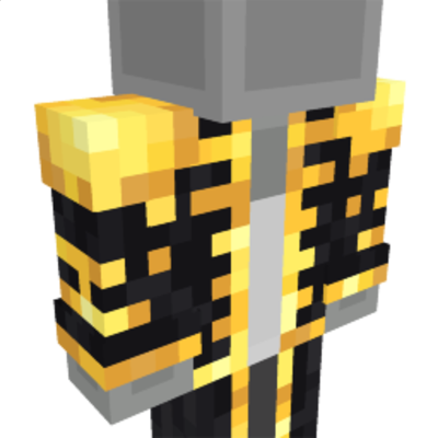 Glistening Golden Suit on the Minecraft Marketplace by CreatorLabs