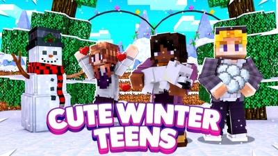 Cute Winter Teens on the Minecraft Marketplace by DigiPort