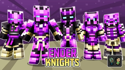 Ender Knights on the Minecraft Marketplace by BLOCKLAB Studios