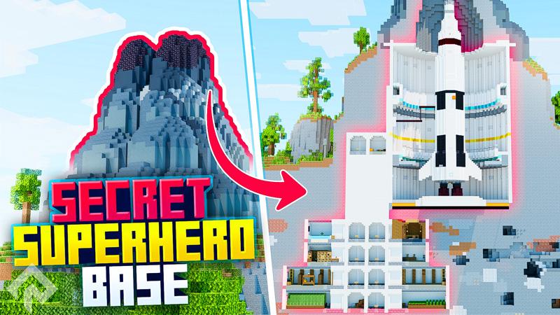 Secret Superhero Base on the Minecraft Marketplace by RareLoot