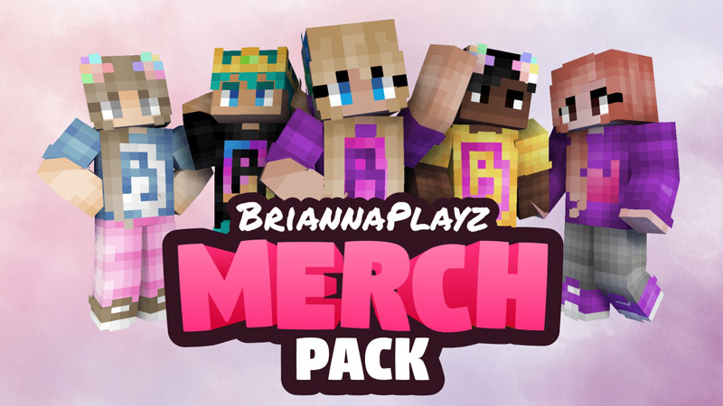BriannaPlayz Merch Pack on the Minecraft Marketplace by Meatball Inc