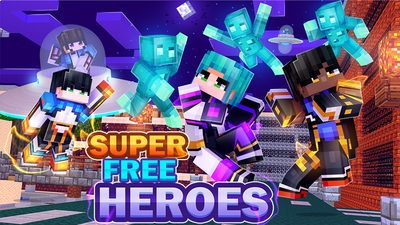 Super Free Heroes on the Minecraft Marketplace by Dark Lab Creations