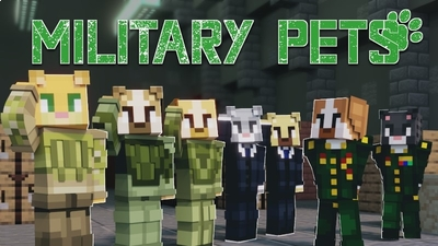 Military Pets on the Minecraft Marketplace by Cynosia