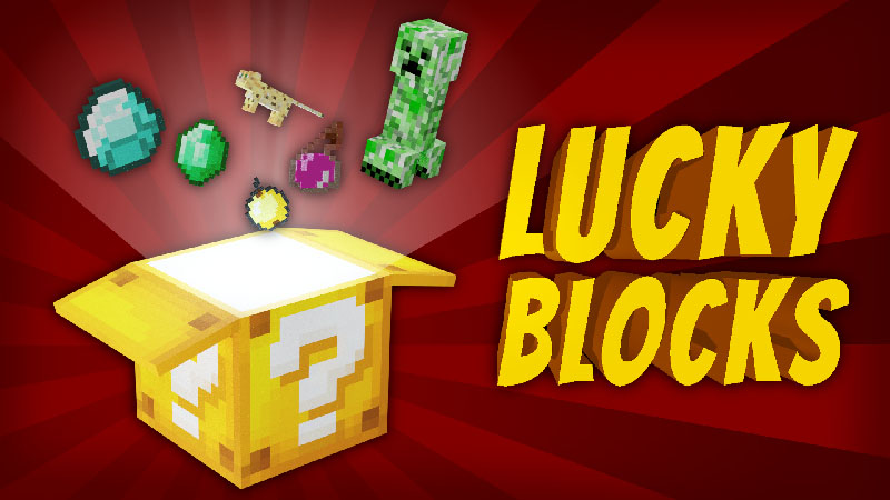 Lucky Blocks on the Minecraft Marketplace by VoxelBlocks