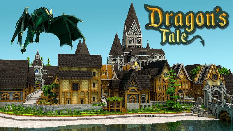 Dragons Tale on the Minecraft Marketplace by Blockception