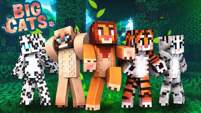 Big Cats on the Minecraft Marketplace by Blockception