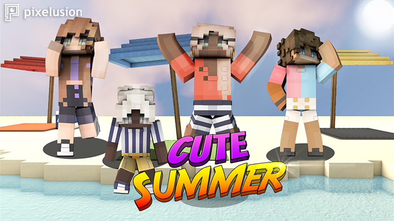Cute Summer on the Minecraft Marketplace by Pixelusion