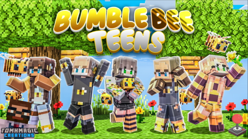 Bumble Bee Teens on the Minecraft Marketplace by Tomhmagic Creations