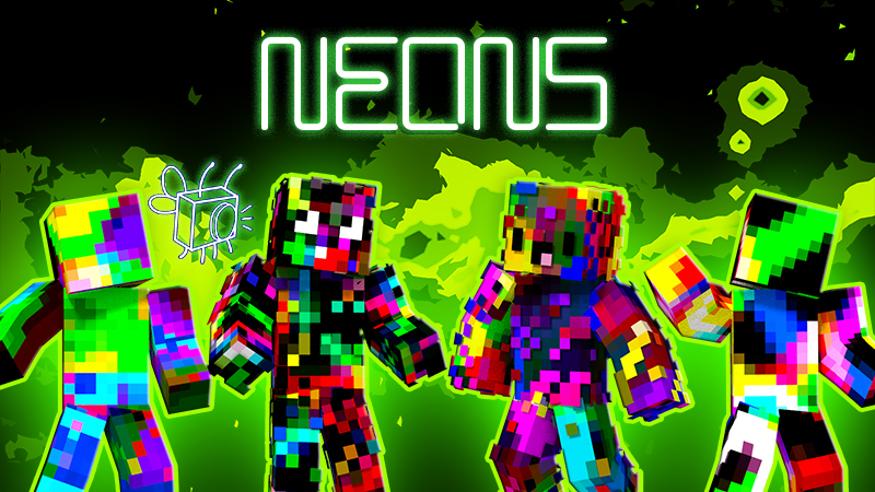 Neons on the Minecraft Marketplace by Blu Shutter Bug
