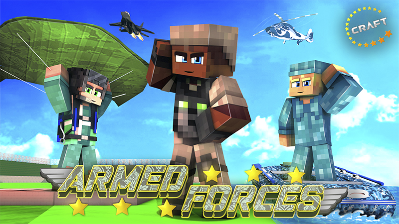 Armed Forces on the Minecraft Marketplace by The Craft Stars