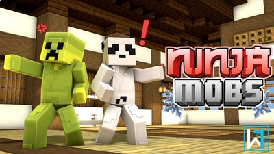 Ninja Mobs on the Minecraft Marketplace by Waypoint Studios