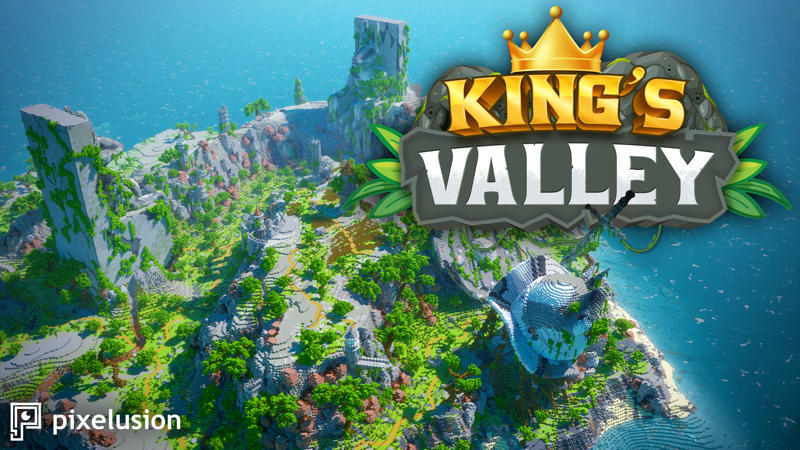Kings Valley on the Minecraft Marketplace by Pixelusion