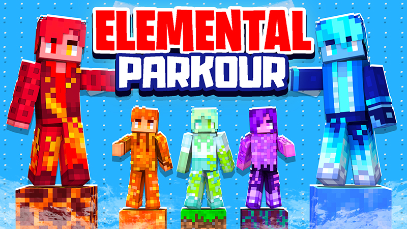 Elemental Parkour on the Minecraft Marketplace by The Lucky Petals