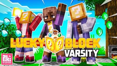 Lucky Block Varsity on the Minecraft Marketplace by Piki Studios