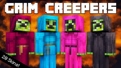 Grim Creepers on the Minecraft Marketplace by 57Digital