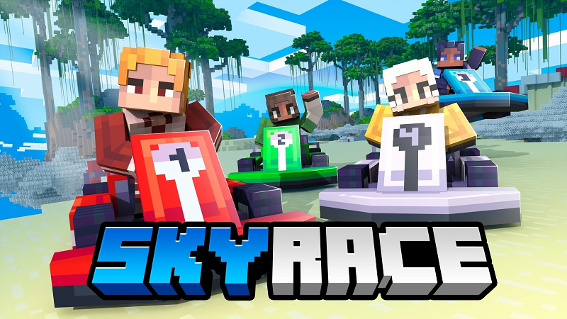 Sky Race on the Minecraft Marketplace by Nitric Concepts