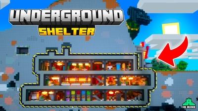 Underground Shelter on the Minecraft Marketplace by In Mine