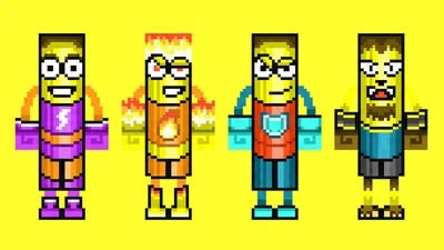 Banana Heroes on the Minecraft Marketplace by 57Digital