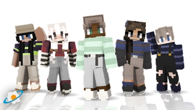 Striped Skins on the Minecraft Marketplace by NovaEGG