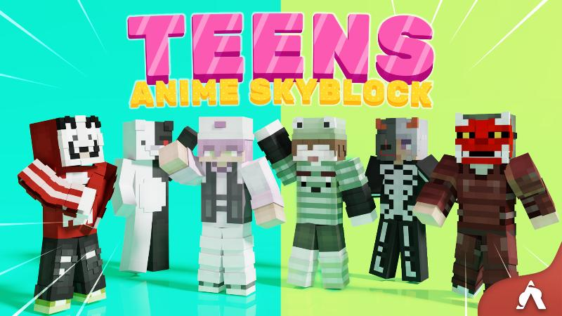 Teens Anime Skyblock on the Minecraft Marketplace by Atheris Games