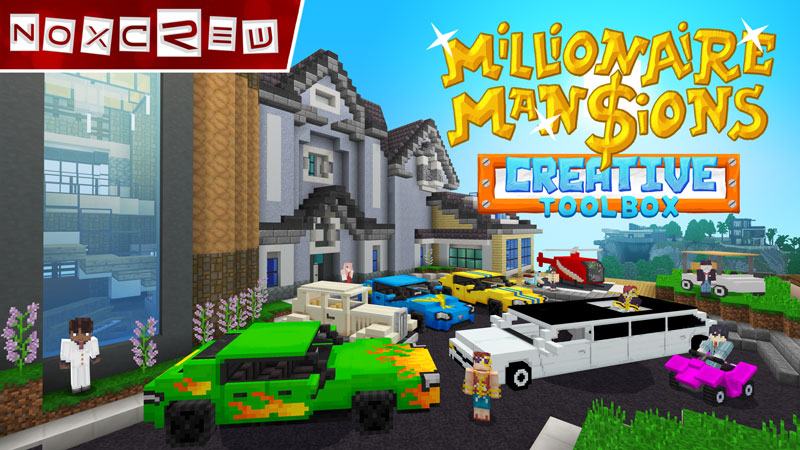 Millionaire Mansions on the Minecraft Marketplace by Noxcrew
