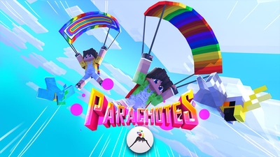 Parachutes on the Minecraft Marketplace by Volcano