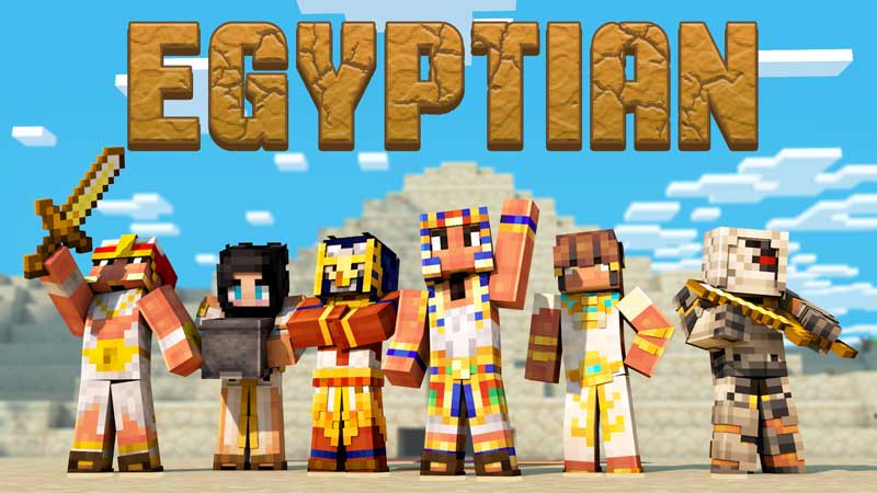 Egyptian Skin Pack on the Minecraft Marketplace by Impulse