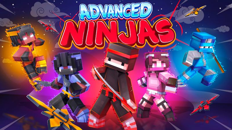 Advanced Ninjas Skinpack on the Minecraft Marketplace by Kreatik Studios