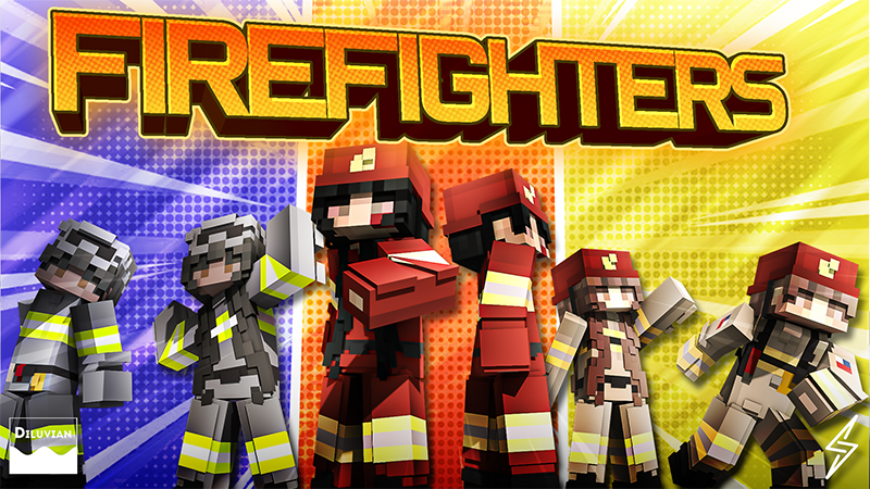 Firefighters on the Minecraft Marketplace by Diluvian