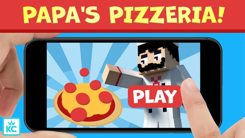 Papas Pizzeria on the Minecraft Marketplace by King Cube