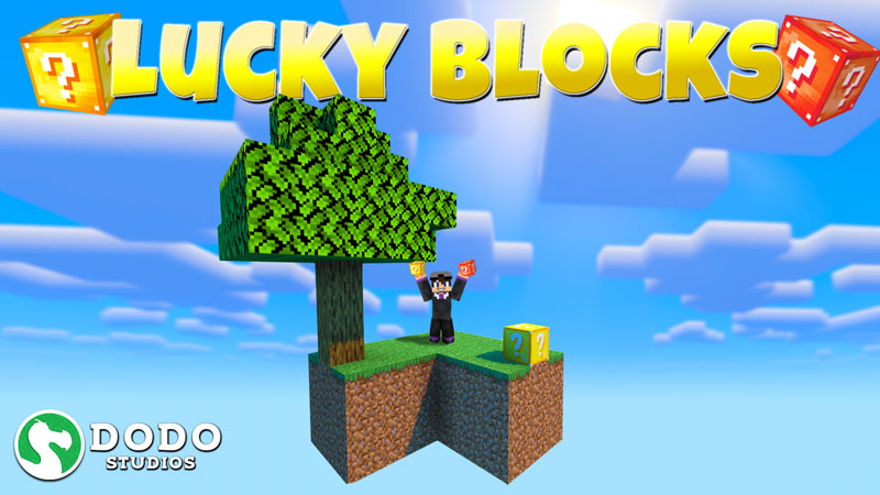Lucky Blocks Skyblock on the Minecraft Marketplace by Dodo Studios